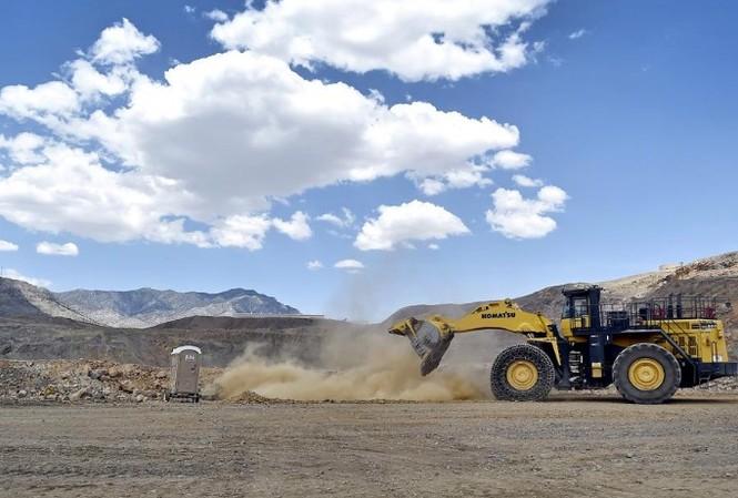 Một cơ sở khai thác đất hiếm ở California. (Ảnh: Reuters)
