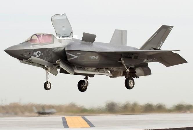 Một chiếc  F-35B STOVL của Lockheed Martin. (Ảnh: Lockheed Martin)