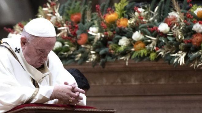 Giáo hoàng Francis vừa trải qua 1 năm với nhiều cố gắng chấn chỉnh Nhà thờ. (Ảnh: EPA)