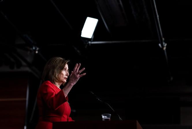 Chủ tịch Hạ viện Mỹ Nancy Pelosi. (Ảnh: NYT)