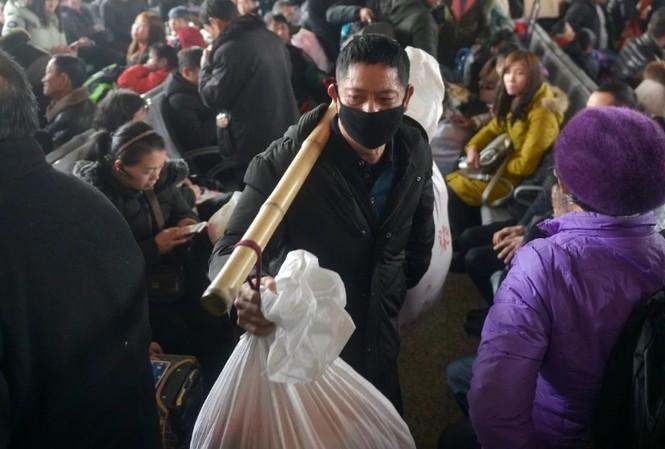 Tết âm lịch là dịp người dân Trung Quốc tạo nên đợt di chuyển lớn nhất thế giới. (Ảnh: Reuters)