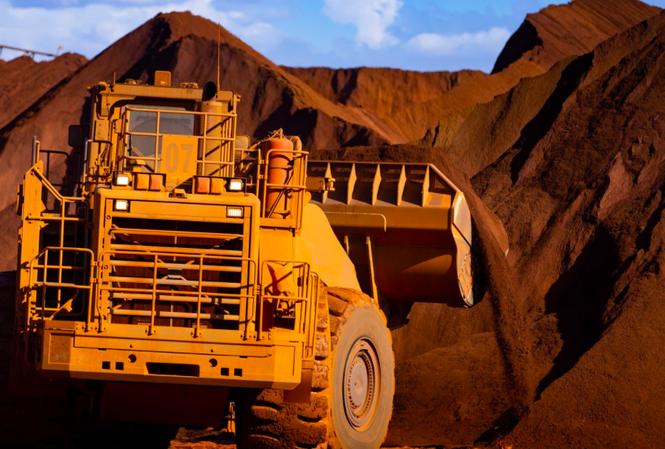 Các mặt hàng khai khoáng của Úc nằm trong danh sách xuất khẩu hàng đầu sang Trung Quốc. (Ảnh: Bloomberg)