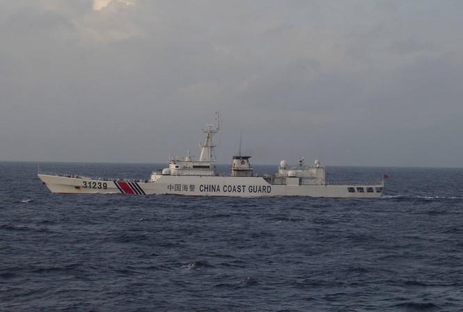 Một tàu hải cảnh Trung Quốc. (Ảnh: Reuters)