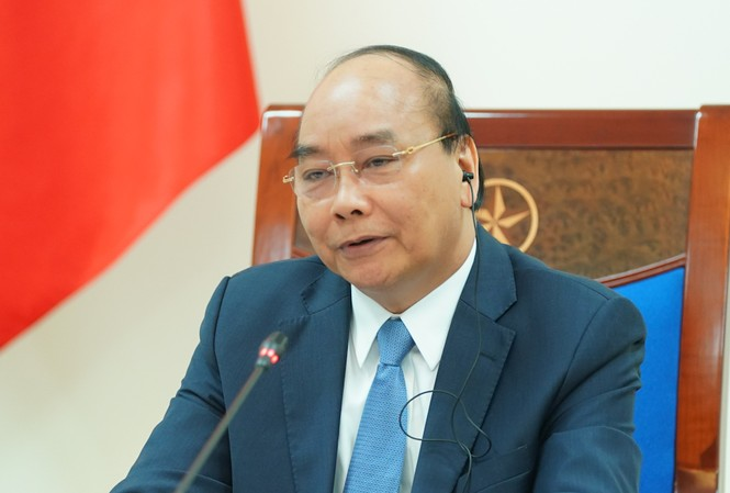 Thủ tướng Nguyễn Xuân Phúc. (Ảnh: TTXVN)