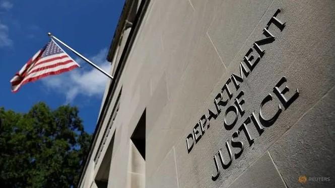 Trụ sở Bộ Tư pháp Mỹ ở Washington. (Ảnh: Reuters)
