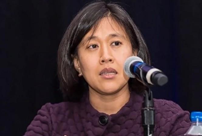 Bà Katherine Tai. (Ảnh: EPA)