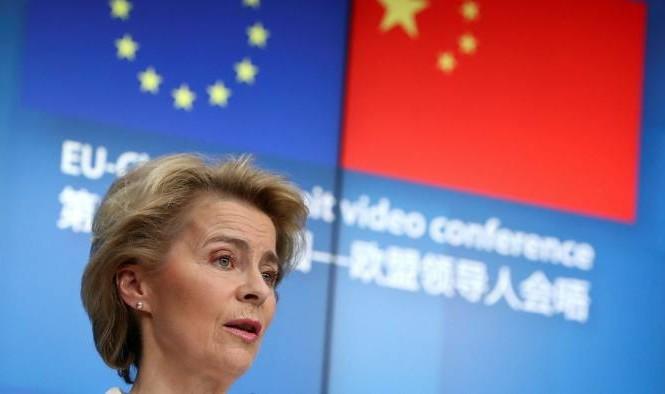 Chủ tịch Ủy ban châu Âu Ursula von der Leyen. (Ảnh: Reuters)