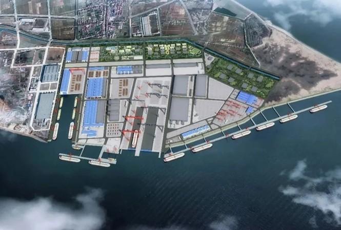 Quang cảnh nhà máy đóng tàu Giang Nam