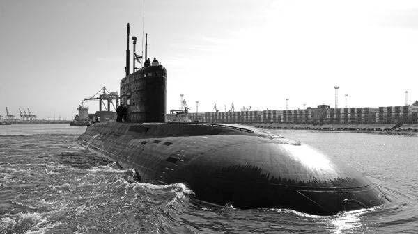 Tàu HQ 183 TP.HCM trong thời gian thử nghiệm tại Nga (Nguồn: Admiralty Verfi).