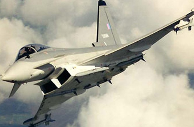 Máy bay chiến đấu Eurofighter Typhoon. Ảnh: airforce-technology.com.