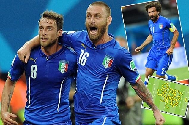 Italia lập kỷ lục World Cup về tỷ lệ đường chuyền thành công trong 1 trận đấu