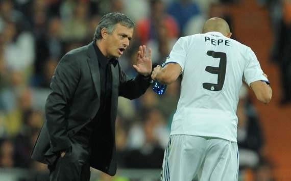 Mourinho rất không hài lòng về hành động thiếu kiếm chế của Pepe