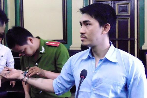 Phạm Châu Tony tại phiên tòa phúc thẩm sáng nay 11/12.