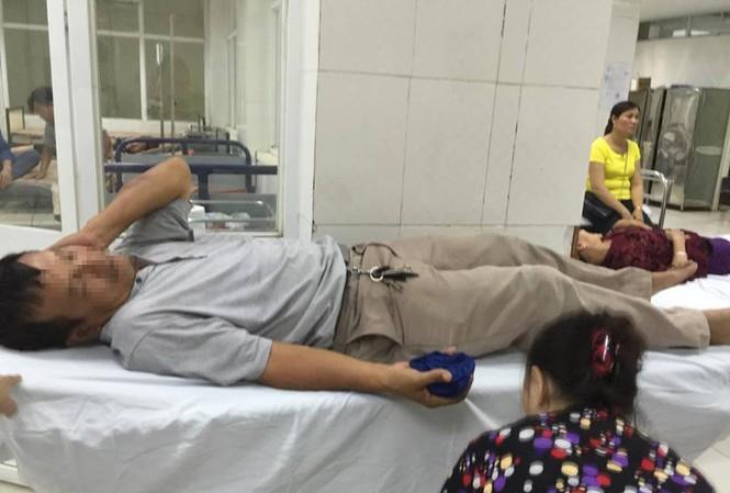 Ông Nghị đang được điều trị trong bệnh viện.