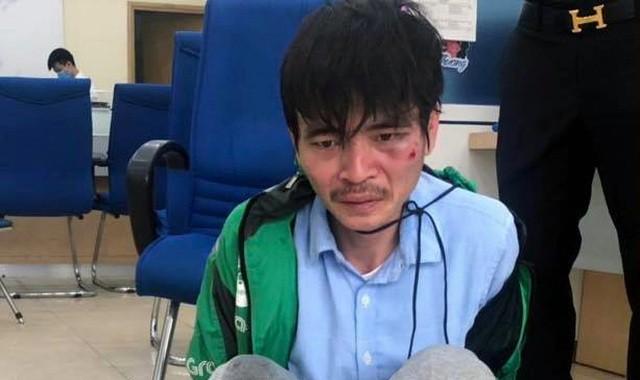 Tài xế taxi cướp ngân hàng ở Hà Nội bị khởi tố - ảnh 1