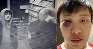 Hé lộ hình ảnh 4 thanh niên đánh du học sinh Singapore gốc Hoa