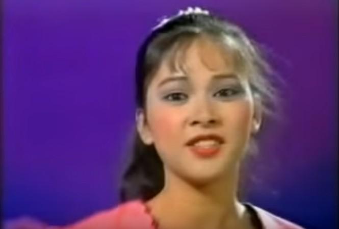 Clip Như Quỳnh hát trên sóng truyền hình năm 10 tuổi 'gây sốt'