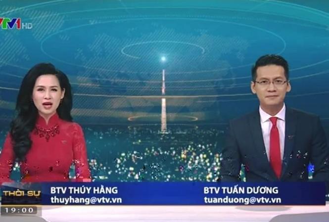 Thêm một BTV dừng lên sóng Thời sự VTV