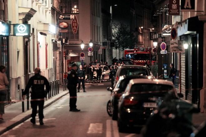 Cảnh sát phong tỏa khu vực xảy ra vụ tấn công. (Nguồn: AFP/Getty Images)