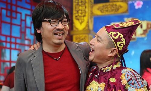 Đinh Tiến Dũng và nghệ sĩ Chí Trung.
