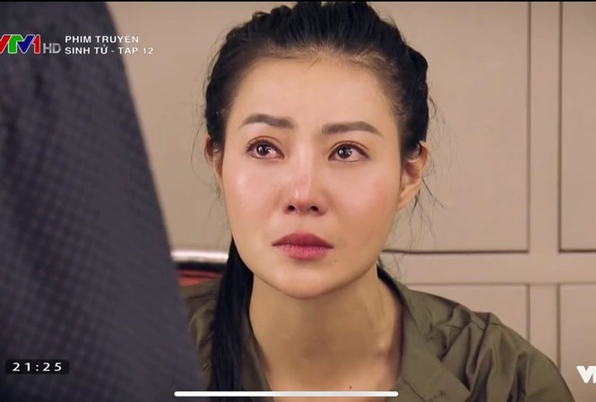 """Hình ảnh Thanh Hương trong phim """"Sinh tử""""."""