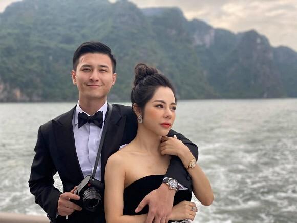 Huỳnh Anh và MC Bạch Lan Phương