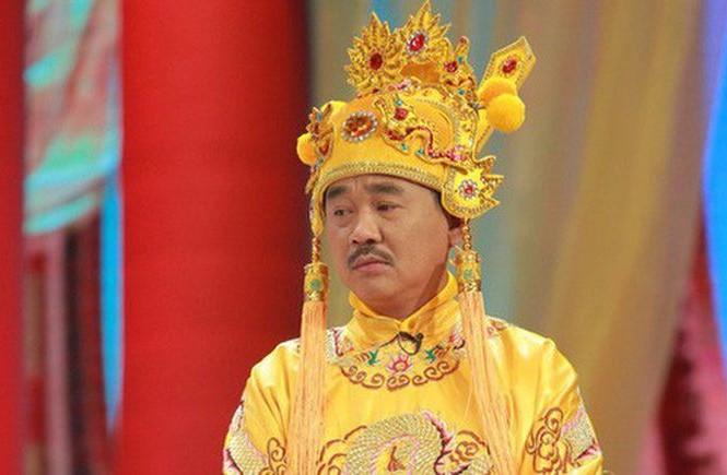 Nghệ sĩ Quốc Khánh trong vai Ngọc Hoàng.