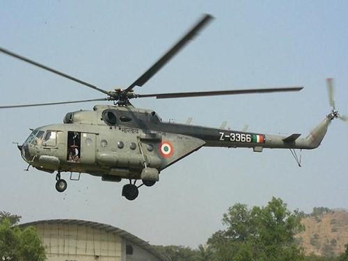 Máy bay trực thăng vận tải Mi-17V-5 trong biên chế của không quân Ấn Độ