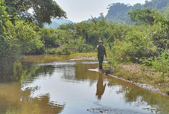 Vị trí xảy ra vụ đuối nước thương tâm