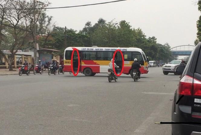 Bát nháo xe buýt tại thành phố Vinh