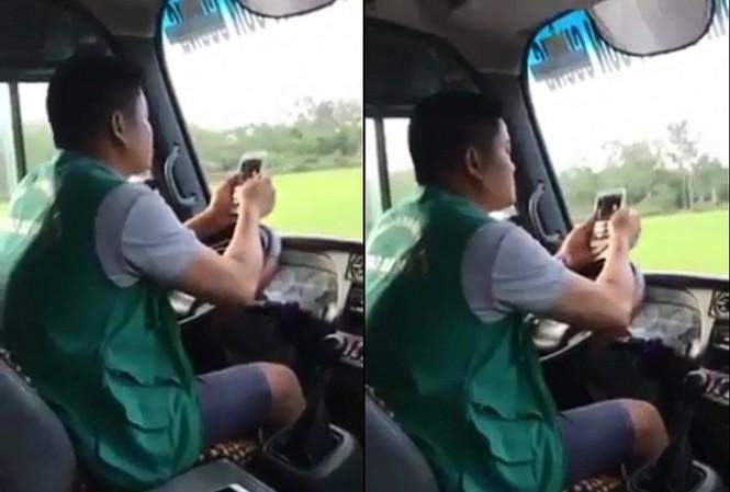 Xử phạt 700 nghìn đồng tài xế dùng khuỷu tay điều khiển ô tô