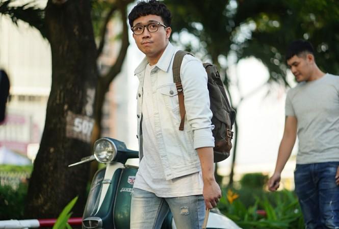 Trấn Thành là diễn viên chính, đồng biên kịch phim Tết