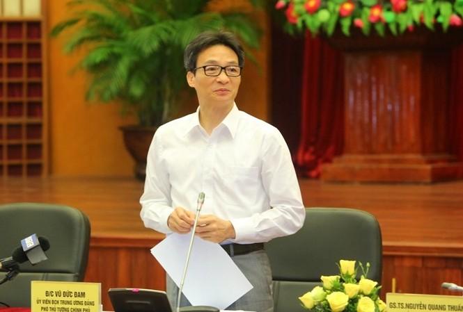 Phó Thủ tướng Vũ Đức Đam chủ trì diễn đàn khoa học về tập quán mai táng của người Việt