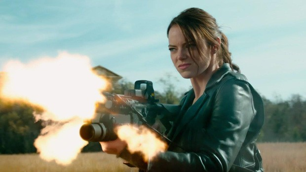 Emma Stone khá ngầu trong Zombieland 2