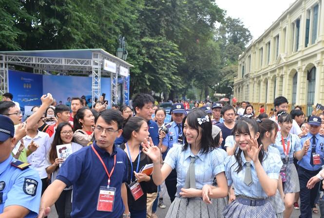 Nhóm nhạc thần tượng nữ Nhật Bản sẽ khuấy đảo bờ Hồ cuối tuần này
