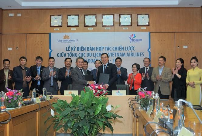 Tổng cục Du lịch và Hãng hàng không quốc gia Việt Nam bắt tay quảng bá du lịch