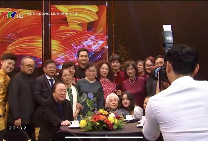Nghệ sỹ Thái Thị Liên, con trai NSND Đặng Thái Sơn và nhiều học trò là nghệ sỹ lớn hội ngộ 'Quê hương mùa đoàn tụ'