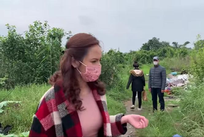 Thu Quỳnh và ê kíp làm phim ở bối cảnh đặc biệt