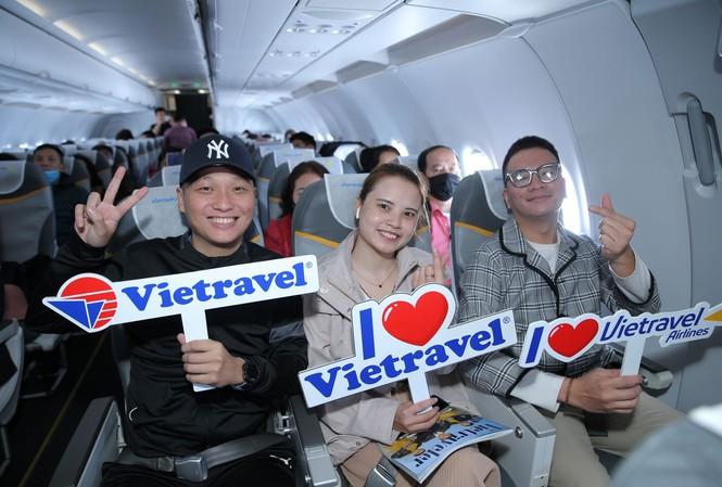 Vietravel khởi hành chuyến charter đầu tiên của năm 2021 đến Phú Quốc với Vietravel Airlines