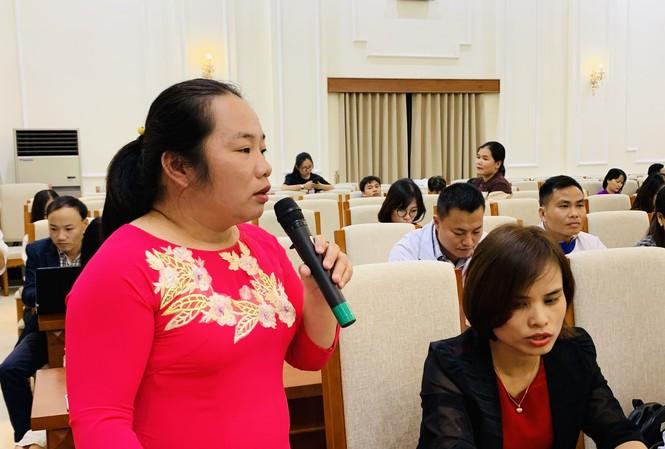 giáo viên phản ánh nhiều vấn đề tới lãnh đạo Bộ GD&ĐT