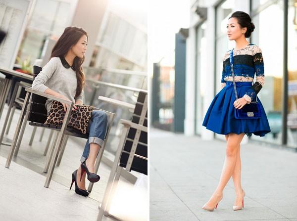 Quý cô gốc Việt cao 1m55 nhưng mặc đẹp như người mẫu 1m7