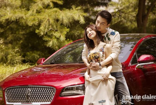 'Tiểu Long Nữ' Trần Nghiên Hy và bạn trai ngọt ngào tình tứ