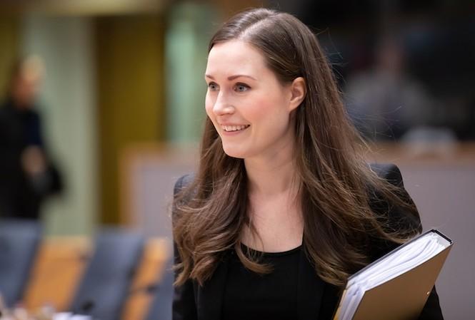 Nữ Thủ tướng trẻ nhất thế giới của Phần Lan, Sanna Marin 34 tuổi