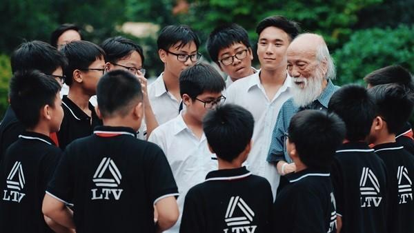 Học sinh trường Lương Thế Vinh làm phim tri ân cố PGS Văn Như Cương
