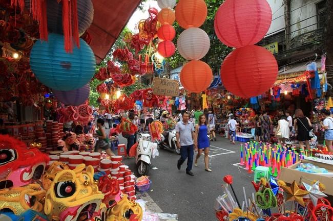 Hà Nội cấm xe hàng loạt tuyến phố cổ để tổ chức lễ hội Trung thu