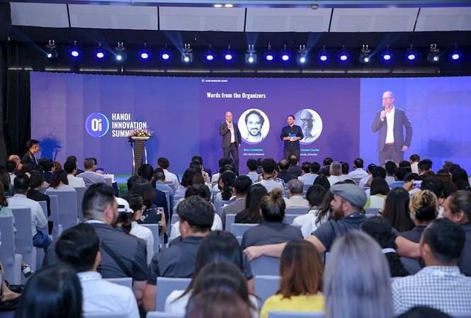 Toàn cảnh diễn đàn Hanoi Innovation Summit