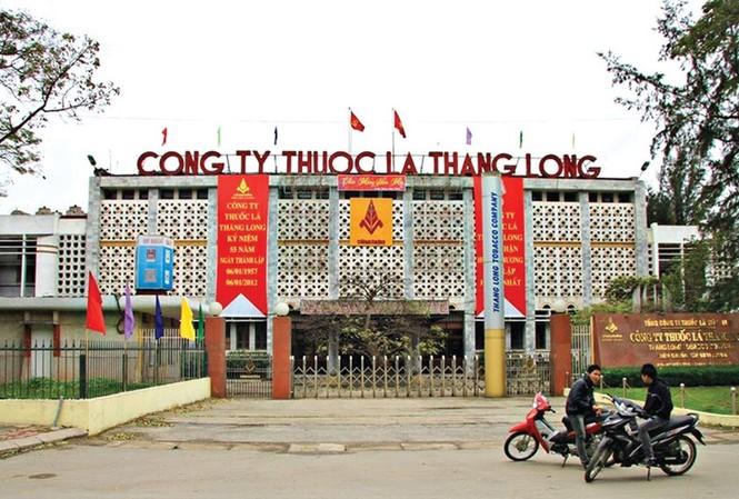 Nhà máy thuốc lá Thăng Long, 1 trong số các cơ cở buộc di dời khỏi nội đô