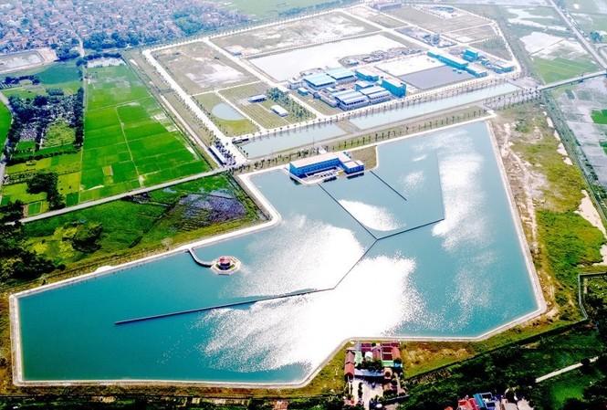 Nhà máy nước mặt sông Đuống