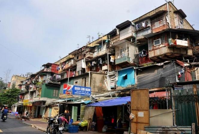 Hà Nội thành lập tổ chuyên gia cải tạo chung cư cũ