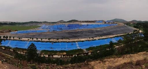 Toàn cảnh bãi rác Nam Sơn